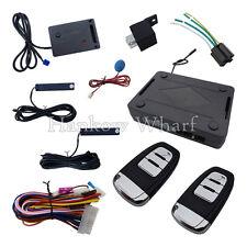 Universal PKE Car Alarm System Passive Keyless Entry With Power Window Output