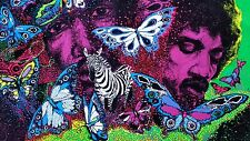"Vintage Jimi Hendrix  Black Light Poster ""Little Wings #983"" Leon Hendrix 1981"