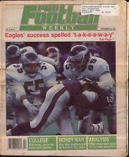 Pro Football Weekly December 24, 1989 Philadelphia Eagles vs. New York Giants