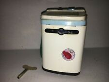 TOP LOADER WASHING MACHINE Wind-Up Tin Toy MS-713 China Model 70's VERY RARE!
