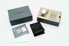 Maurice Lacroix Eliros EL1087 Herrenarmbanduhr flach & leicht Silber Milanese