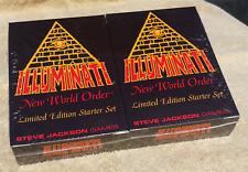 Illuminati New World Order • Limited Edition Starter Set • Factory Sealed