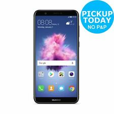 Sim Free Huawei P Smart 5.65 Inch 32GB 13MP Android Mobile Phone - Black.
