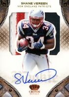 2011 Crown Royale Football Card #215 Shane Vereen Rookie Auto Patch