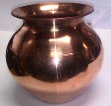 Indian Copper Water Lota Kalash Pot Kitchen Accessories Yoga Surya Namaskar OM