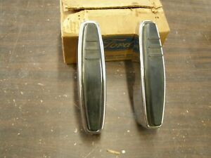 NOS OEM 1969 Ford Galaxie 500 Front Bumper Guard Kit Chrome Trim
