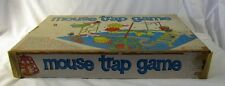 Vintage 1963 Ideal Toy Corp MOUSE TRAP GAME 2601-3 CLASSIC FUN Play or Display