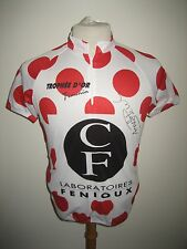 Trophee d´Or Feminin WORN and SIGNED jersey shirt cycling trikot maillot size M