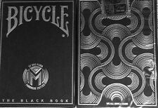 Bicycle Black Book Manifesto Playing Cards - Limited Edition - SEALED