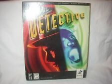 ELECTRONIC ARTS PSYCHIC DETECTIVE CD ROM NEW 3 GAME DISC 1995 NEW IN BOX