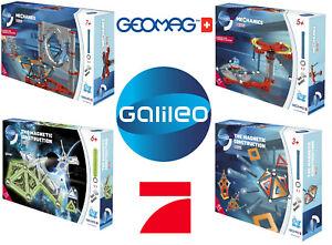 Galileo Science Geomag Magnetbaukasten Magnetspiel Magnetkonstruktionen 4 Typen
