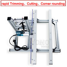 convenient woodworking machine edge trimmer  cutting and corner rounding