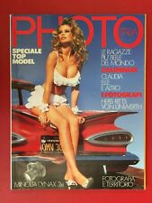 PHOTO n.198 Dicembre 1991 (ITA) SPECIALE TOP MODEL CLAUDIA SCHIFFER Rivista