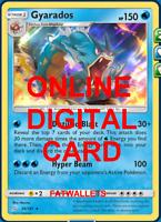 1x Gyarados 30/181 Team Up Pokemon TCG Online Digital Card