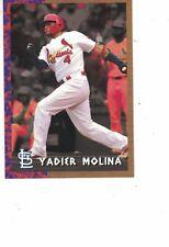 2018 Topps Jurassic Park Yadier Molina St. Louis Cardinals #TBT /691 Throwback