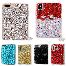 Handmade Personalized Bling Jewelled Crystals Diamonds Soft Tablet Case Cover #A