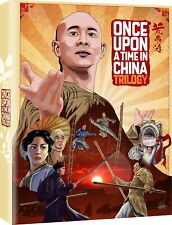 Once Upon A Time In China Trilogy Jet Li Blu-Ray New (Region B Only/Not Usa)