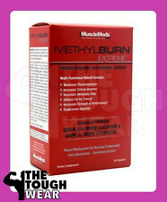 MuscleMeds METHYLBURN Extreme 60 capsules THERMOGENIC FAT BURNER muscle meds NEW
