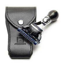 Travel Razor Mini Gillette Fusion Leather Case for Men