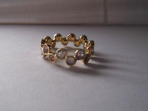 Genuine SWAROVSKI Crystal FIDELITY SILK Ring - size 52