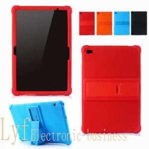 Coque Housse Etui Silicone Tablette Smart Cover iPad Samsung Tab Huawei MediaPad