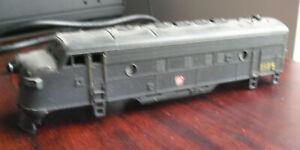 Vintage HO Scale Plastic PRR 1509 Locomotive Body