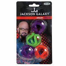 Petmate Jackson Galaxy Satellites Toys for Cats 4 count