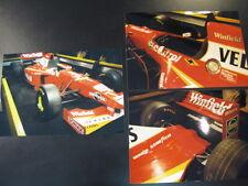 Photo Winfield Williams Mecachrome FW20 1998 #1 Jacques Villeneuve (CAN) 3x