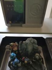 Halo Reach Limited Collectors Edition Xbox + Noble Team Statue Diorama