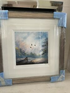 Danny Abrahams Limited Edition Framed Giclee Print On Paper 'Fly Away With Me'