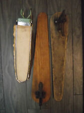 3 VINTAGE IRONING BOARDS 2 CAST  FASTEN AND FOLD  AND 1 METAL OVER THE DOOR TYPE