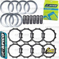 Apico Clutch Kit Steel Friction Plates & Springs For Yamaha YZ 450F 2007 MotoX