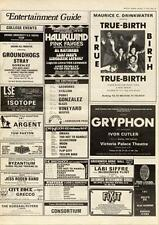 Isotope LSE MM5 show Advert 1975