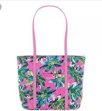 Vera Bradley Small Trimmed Vera Tote Bag Tropical Paradise NWT