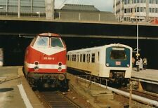 Foto BR 472 und BR 219 S-Bahn Hbf Hamburg 1994 ca.3x13cm V2057d