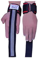 EVO Fitness Gym Straps Weightlifting GEL Padded Wrist Support Cuff