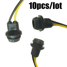10x T10 Socket Rubber Extention Connector Wiring Plug Fit T10 LED Xenon HID Bulb