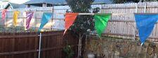 104 ft Multicolor Triangle flag, String Banner, Pennant Banner