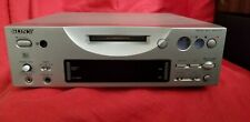 Sony Mds-Pc1 Minidisc Player Recorder, w/remote. Good condition.Used