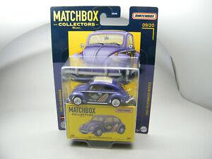 Matchbox 2021 Superfast Welle B VW Volkswagen Käfer Collectors Edition lila