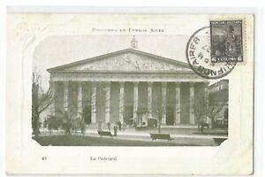 Postcard Argentina, Buenos Aires, La Catedral