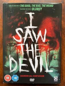 I Saw the Devil DVD 2010 Korean Serial Killer Horror Movie with Slipcover