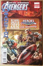 AVENGERS X-SANCTION #1 | HeroesCon 2012 Variant -- McGuinness art