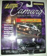 1969 Black Camaro RS Collection Limited Edition Johnny Lightning 1:64 scale