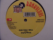 """Beenie Man TONY CURTIS & A.R.P. Missing You / Singing Melody For You I Will 12"""""""