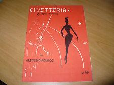 TEATRO CIVETTERIA FANTASIA MUSICALE ALFREDO POLACCI CLAUDIO VILLA CLELY FIAMMA