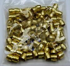 Brass Fittings: Air Brake Sleeve, Tube OD 3/8