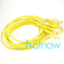 Lot 10 cables/ 16in 42cm 568B CAT5E UTP Ethernet RJ45 Patch Cable Network Cable