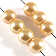 30 pearls Pearly 8mm Fishing mirror of Bohemian