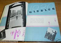 1939 Eastern Illinois College WARBLER Yearbook ~ University  Annual Album
